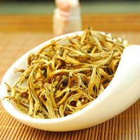 600g( 12packs) Chinese Yunnan yellow Tea The golden liquid Entertain guests good tea Free shipping