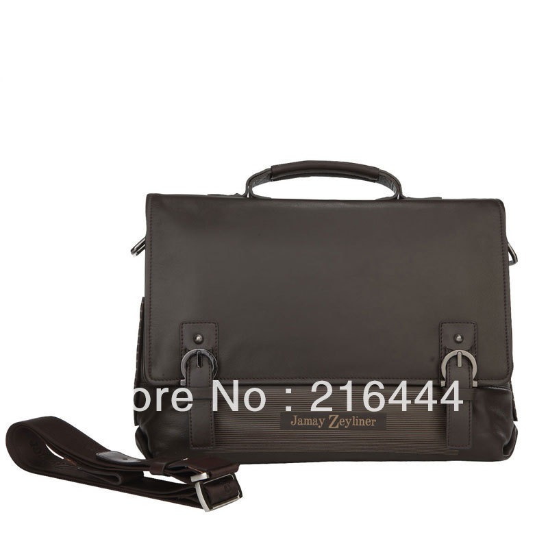 FREE SHIPPING Genuine Italian Hottest Fashionable Best Laptop Messenger Bag 2013(China (Mainland))
