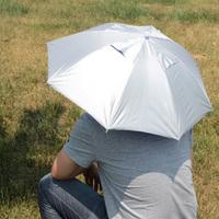 Headset sun protection umbrella headset umbrella hat fishing umbrella outdoor water-resistant portable anti-uv sunscreen
