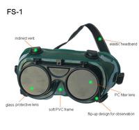 Freeshipping Hongsheng   PC Lens & PVC Frame Eye Protection Safety Welding Goggle   FS-1