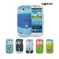 High quality Plastic protective matte hard back cover case for samsung galaxy S3 i9300 JIMI cartoon