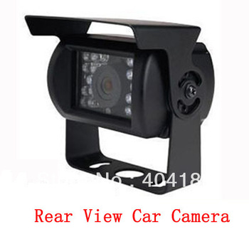 120 Degree IR Nightvision Waterproof Car Rear View Camera For Bus & Truck Free Shipping