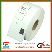 20 x rolls  Brother Compatible  DK11208 label (Thermal paper label)