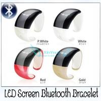 Portable Magic Bracelet Magic Bluetooth Bracelet Led Screen Vibrating supor call incoming support  dropshipping wholesale