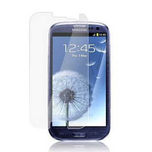 High Transparent HD Film Protector for Samsung i9300 Galaxy SIII Free Shipping(China (Mainland))
