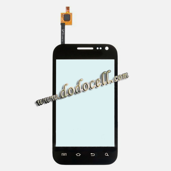 10pcs/lot Touch Screen Digitizer Glass For Samsung GALAXY Admire 4G R820 with logo Free ship by DHL(China (Mainland))