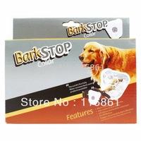 20PCS EMS Free shipping Hot Sell Ultrasonic Dog Anti Bark Stop Barking Healthy Safe Training Collar For Pets