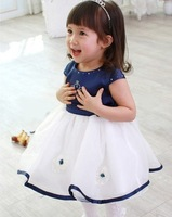 White Rose Princess Tank Dress baby dress skirts 42422424