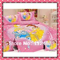 Cotton Queen Of Diamonds children 3pcs Bedding Set Kid Bedding Free Shipping