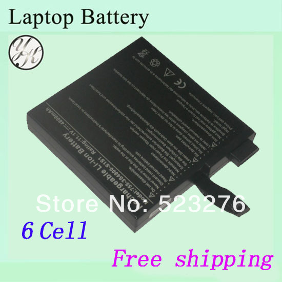 Replacement laptop battery for Uniwill N755 755-4S4000-S1P1(China (Mainland))