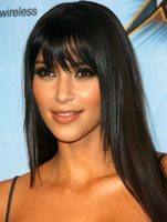 Straight Glueless full lace wigs with bangs  lace wig glueless women lace front wig with bangs free shipping