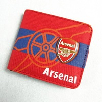 Free Shipping Supplies english premier league arsenal canvas wallet