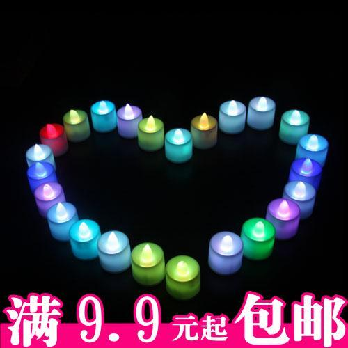 Candle lamp electronic led romantic candle birthday wedding festive energy saving lamp(China (Mainland))