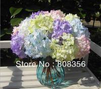 "10pcs 34cm/13.39"" Length Artificial Baroque Hydrangeas Wedding Christmas Party Home Decorations Freeshipping"