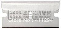 Free Shipping 1 Box 100Pcs High Carbon Steel Blade Househould Scraper Knife blade