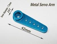 blue Metal Servo Arm 25T Robot Horns for MG995 MG996R Spring SR Servos Robot