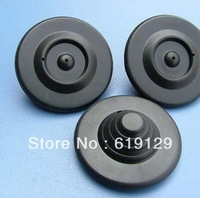 Black color RF mini UFO hard tags 8.2MHZ 48MM Diameter