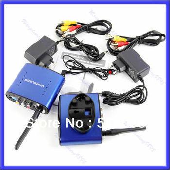 A25Free Shipping 5.8GHz AV Sender Wireless Transmitter Receiver IR original Adapter PAT530