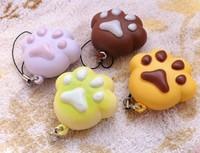 Bear claw Squishy Cell Phone Charm/bag charm /Creative small gifts PU , fragrance