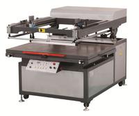 Tilted-arm Flat Bed Screen Printer , High End Flat Screen Printer