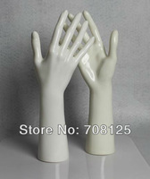 One Piece White Hand Mannequin Bracelet Ring Jewelry Stand Display