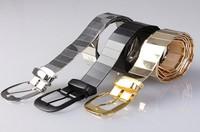 free shipping Fashionable man alloy metal sequins belt punk style of men's belt
