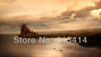 09 Game of Thrones GOT King's Landing Capital of the Seven Kingdoms 42''x24'' wall Poster with Tracking Number