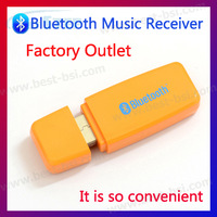 Dropping shipping 3PCS usb bluetooth  a2dp receiver adapter For Headphones Transmitter Speaker iPhone MP3 MP4 PC Music Player
