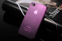 hot selling Ultra-thin silica gel 0.5mm for iphone 4 phone case for iphone 4s phone case shell for4 protective case shell