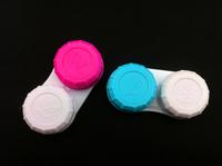 Free shipping contact lens case,100pcs contact lense case