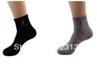 10pairs/lot Men Sport Socking Spring Polyester Cotton Socks Promotion Wholesale