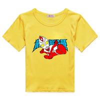 Short-sleeve T-shirt altman children's clothing child large male short-sleeve summer child 100% cotton o-neck little boy clothes
