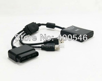 Free shipping 10PCS/LOT Controller Converter Adapter Cable for PS2 to Xbox360