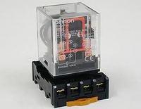 OMRON MK2P-I AC 220V Relay 8-Pin 10A 250VAC With PF083A Socket Base