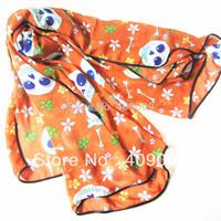 hot sale!2013 newest  flower  skull square scarf/fashion lady style  beach shawls140*140cm
