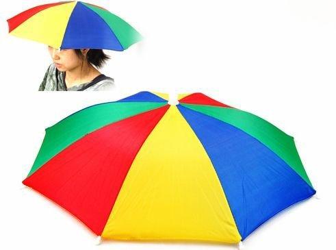 Golf Fishing Camping Novelty Headwear Cap Umbrella Hat(China (Mainland))