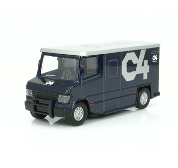 Armored car truck acoustooptical WARRIOR open the door alloy car model toy car