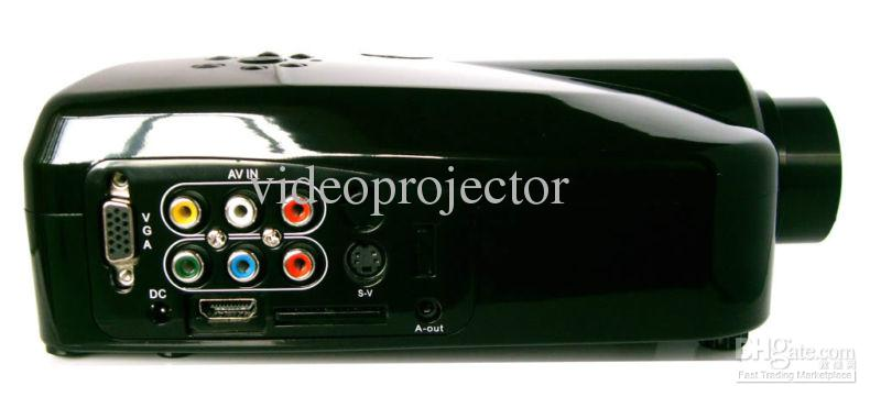 New arrival! Micro Projector Office / Home Cinema / Game with AV / SV / VGA / HDMI Drop Shipping(China (Mainland))