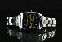 christmas gift sale Star War Movie watch men women fashion stainless steel watch quartz wrist watch se
