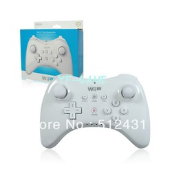 Multi-functional game controller for Wii U electronic games player in black color(China (Mainland))