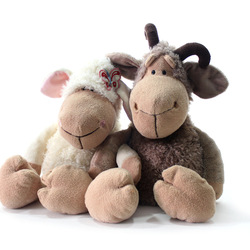 Plush toy doll goat lovers sheep cloth doll sheep birthday gift(China (Mainland))
