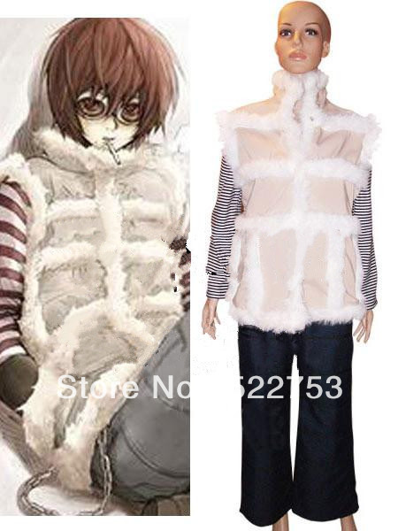 Free shipping Death Note Matt Cosplay Costume Custom-made(China (Mainland))