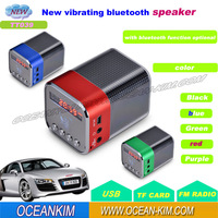 Super Mini Portable USB LCD Mp3 Music Player Bluetooth Speaker Music Angel FM TF SD Card Alarm clock
