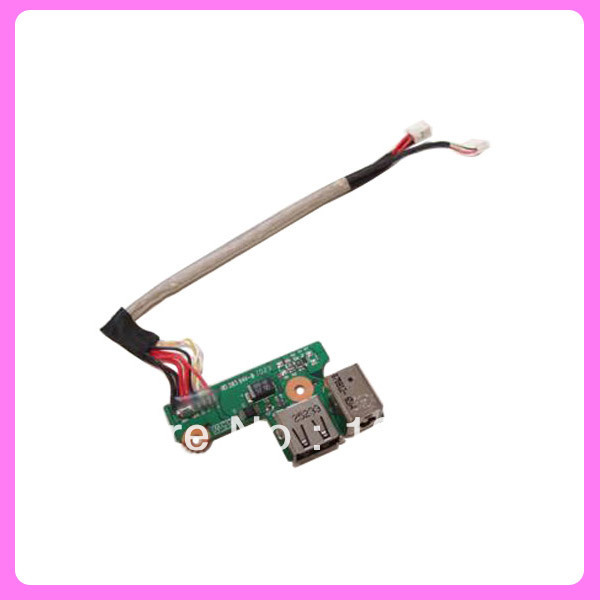 DC Power Jack USB Board Cable Harness 65W For HP Pavilion DV6000 V6000 F500 G6000(China (Mainland))