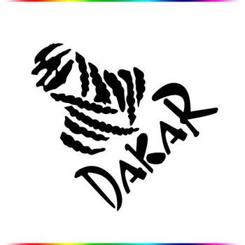 "[11*12] Off-Road Car Stickers Motorcycle Stickers ""Dakar"" sticker"