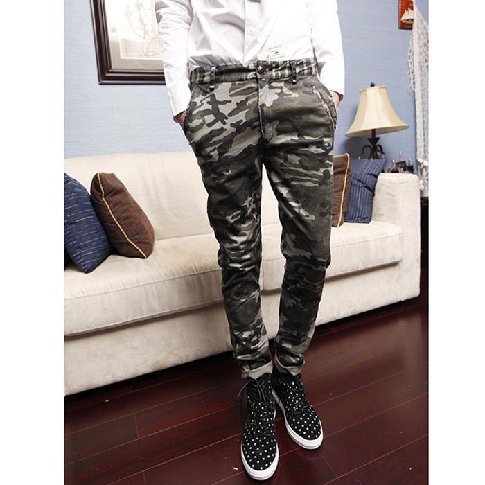 Slim Homme Hommes Mode Slim Pantalons