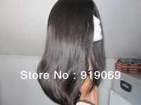 In stock Jewish wig kosher shietle natural color in fast shipping,4*4 silk top natural looking scalp + gift