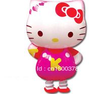 Free shipping 50pcs/lot mix design walking pet balloon helium balloon hello kitty balloon
