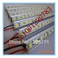 LED 5050 light bar non-waterproof 36 LEDs 50cm  6pcs white/warm white DC 12V LED Showcase ,LED tube,hard CPAM/HKAMshipping