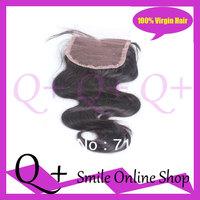 100% Human Remy  Hair Lace Closure Soft Natural Looking Brazilian Human Remy Hair Lace Closure